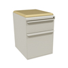 Marvel Group Zapf Mobile Pedestal w/Seat, Box/File, Featherstone Forsythia Fabric MLG ZSMPBF19C-FT-5822