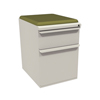Marvel Group Zapf Mobile Pedestal w/Seat, Box/File, Featherstonel Fennel Fabric MLG ZSMPBF19C-FT-5826