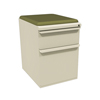 Marvel Group Zapf Mobile Pedestal w/Seat, Box/File, Putty Fennel Fabric MLG ZSMPBF19C-UT-5826