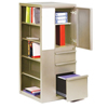 Filing cabinets: Marvel Group - Ensemble Personal Storage Shelf Left Tower, Pumice