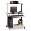 computer workstations: Mayline® Eastwinds™ Series Multimedia Mobile Workstation