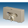 Plasti Product: Plasti-Products - Glove Box Dispenser Horizontal or Vertical Mount 1-Box Beige 4 X 7 X 11-3/4 Inch Plastic