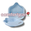 bedpans & commodes: Church Products - Bed Pan Comfortpan® Blue 2 Quarts