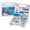 First Aid Only First Aid Kit White Plastic Case MON 13132000