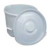 Mabis Healthcare Commode Pail with Lid MON 34723306