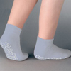 slippers: PBE - Slipper Socks Tred Mates® Adult X-Large Gray Ankle High, 12EA/DZ