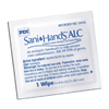 Sani-wipe-products: Professional Disposables - Antiseptic Hand Wipe Sani-Hands® ALC 8 X 5.3 Inch Fragrance Free Individual Packet Disposable, 100EA/BX 10BX/CS