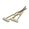 canes & crutches: Hermell Products - Imitation Sheepskin Crutch Cover & Hand Grips Set