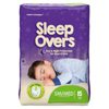 incontinence aids: First Quality - Protective Underwear Pull On Sleep Overs® 45-65 lbs. Small / Medium, 15EA/PK