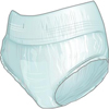 incontinence aids: First Quality - Protective Underwear Nu-Fit® Large, 50EA/PK