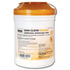 Sani-wipe-products: PDI - Sani-Cloth® AF3 Germicidal Disposable Wipes, XLG, 65 per Canister