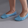 slippers: Posey - Slippers Adult Medium Blue Below the Ankle