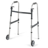 Samsonite-crutches-walkers: Invacare - Dual Release Folding Walker Adjustable Height PVC 300 Lbs
