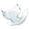 "Incontinence Aids Briefs: Kendall - Brief Wings Choice Plus™ 32-44"" Medium White Maximum Absorbency, 12EA/PK"