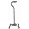 canes & crutches: McKesson - Quad Cane sunmark® Aluminum 29-1/2 to 38-1/2 Inch Chrome