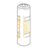 Rechargeable Batteries: Welch-Allyn - NiCad Battery 3.5 Volt Rechargeable