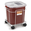 Medical Action Industries Sharps Cart For A 8 Gallon And 16 Gallon MON 87902800