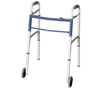 Walkers: Apex-Carex - Classics Dual Button Walker with Wheels