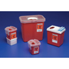 Kendall: Kendall - Container Sharps Clr Red 1 Qt