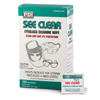eye protection: Nice Pak - See Clear Eye Glass Cleaning Wipes 120 Per Box