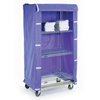 "Safety storage & security carts: Nexel Industries - Storage Cart Cover, Color: Blue Nylon, Size 48""W x 18""D x 74""H"