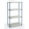 wire shelving & steel shelving: Nexel Industries - Nexelite Shelving Unit Assembly