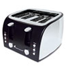 breakroom appliances: Coffee Pro 4-Slice Multi-Function Toaster