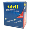 first aid medicine and pain relief: Advil® Ibuprofen Tablets