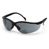 Stoko-gray: Pyramex Safety Products - V2 Readers® Eyewear Gray +2.0 Lens with Black Frame