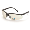 eye protection: Pyramex Safety Products - V2 Readers® Eyewear IO Mirror +2.5 Lens with Black Frame