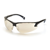 eye protection: Pyramex Safety Products - Venture 3™ Eyewear IO Mirror Lens with Black Frame