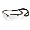 eye protection: Pyramex Safety Products - PMXTREME™ Eyewear Clear Lens with Black Frame & Cord