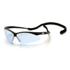 eye protection: Pyramex Safety Products - PMXTREME™ Eyewear Infinity Blue Lens with Black Frame & Cord