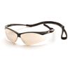 eye protection: Pyramex Safety Products - PMXTREME™ Eyewear IO Mirror Lens with Black Frame & Cord