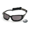 Stoko-gray: Pyramex Safety Products - PMXCEL Eyewear Gray Lens with Black Frame