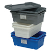 Quantum Storage Systems Cross Stack Tub Lids QNT LID1711GY-CS