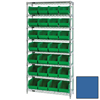 metal shelving units: Quantum Storage Systems - Wire Shelving Unit with Ultra Bins