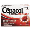 cough drops: Cepacol® Maximum Strength Numbing Lozenge