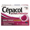cough drops: Cepacol® Sore Throat and Cough Lozenges
