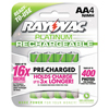 Rechargeable Batteries: Rayovac® Platinum Rechargeable NiMH Batteries