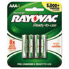 aaa batteries: Rayovac® Recharge Plus NiMH Batteries