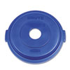 Safco-round-containers: Rubbermaid® Commercial Brute® Recycling Top