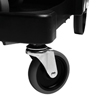 Janitorial Carts, Trucks, and Utility Carts: Rubbermaid Commercial - Executive Quiet Caster and Ball Bearing Wheel Kit