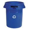 Safco-round-containers: Rubbermaid Commercial - Brute® Recycling Container