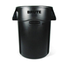 Safco-round-containers: Rubbermaid Commercial - Vented Round Brute® Container