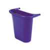 Recycling Containers: Rubbermaid Commercial - Wastebasket Recycling Side Bin