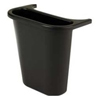 Recycling Containers: Wastebasket Recycling Side Bin in Black