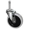 Janitorial Carts, Trucks, and Utility Carts: Replacement Bayonet-Stem Casters
