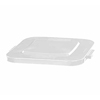 Rubbermaid Commercial Square Brute® Lid RCP 3527 WHI