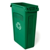 waste receptacles: Rubbermaid Commercial - Slim Jim® Plastic Recycling Container with Venting Channels